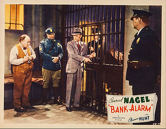 Henry Roquemore - Henry Roquemore at left in Bank Alarm (1937).