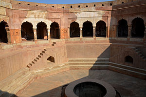 Stepwell - The 18th-century Baoli Ghaus Ali Shah, in Farrukhnagar, Haryana