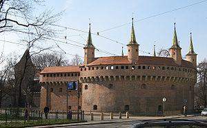 Royal Road, Kraków - Barbakan