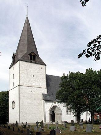 Barlingbo Church - Image: Barlingbo view 01