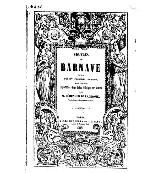 File:Barnave - Œuvres de Barnave, tome 1.djvu