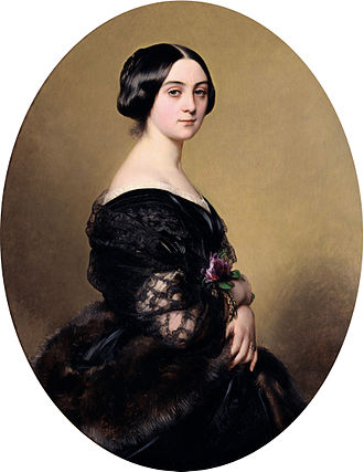 Baron Jean–Henri Hottinguer - Caroline Delessert. (Franz Xaver Winterhalter,1851)