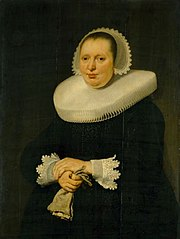 Portrait of Catharina Jansdr. Tengnagel, wife of Andries Bicker