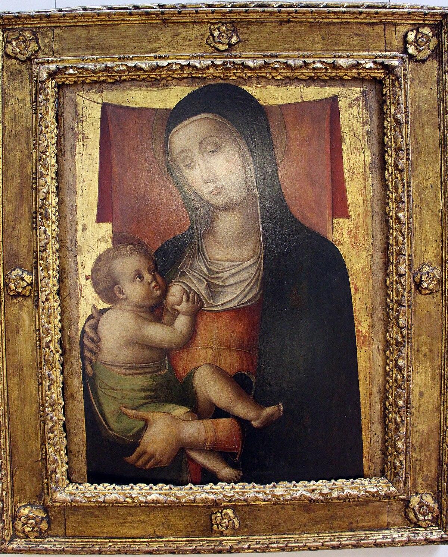 File:Bartolomeo Vivarini (stile Di), Madonna Del Latte