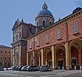 Basilica della Ghiara con i portici dei chiostri.jpg