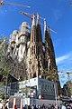 Basilique Sagrada Familia façade nord est Barcelone 8.jpg