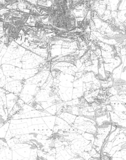 Bath To Midford 1903