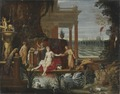 Bathseba in the Bath Receiving the Letter from King David (Hendrick van Balen d.ä.) - Nationalmuseum - 18056.tif