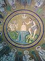 Battistero degli ariani mosaico cupola 01.jpg