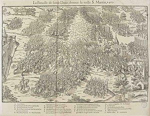 Battle of Saint-Denis (1567) - Battle of Saint-Denis, 1567.