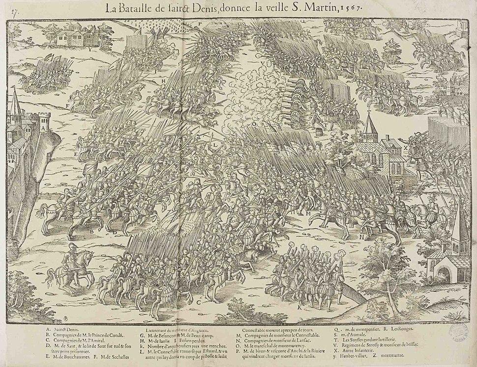 Battle of Saint Denis 1567