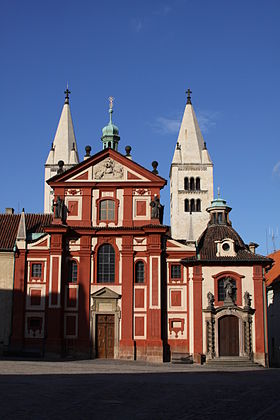 Image illustrative de l'article Basilique Saint-Georges de Prague