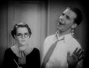 Footlight Parade - Bea (Ruby Keeler) was not an immediate fan of Scotty (Dick Powell)
