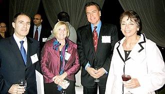 Beatriz Merino - From left to right. Leading Peruvian businessman Diego de la Torre, Director of the David Rockefeller Center for Latin American Studies Merilee Grindle, President of the Harvard Club of Peru Víctor M. Marroquín, and Beatriz Merino at a Harvard Club of Peru meeting in 2011.