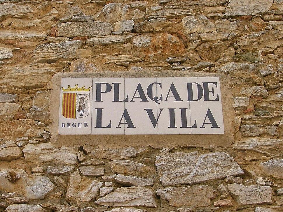 Begur - Plaça de la Vila - Catalunya