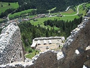 Surava - Ruins of Belfort Castle, above Surava