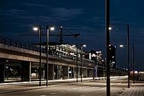 Bella center metro station by night.jpg
