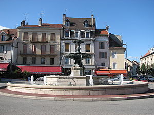 Belley - Place des Terreaux, Belley
