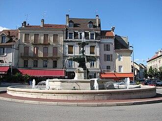 Belley - Place des Terreaux, Belley