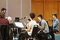 Ben Folds and yMusic read song arrangements by Duke University composition graduate students (16627677503).jpg