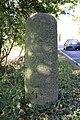 Benchmark on milestone beside A415 - geograph.org.uk - 2668496.jpg