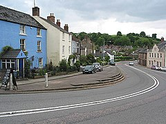 Bends in the road, Blakeney - geograph.org.uk - 812769.jpg