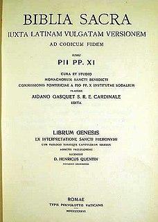 Benedictine Vulgate