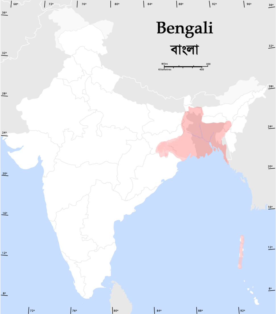 Bengalispeaking region