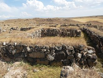 Gyumri - The Orontid settlement of Gyumri, 5th–2nd centuries BC