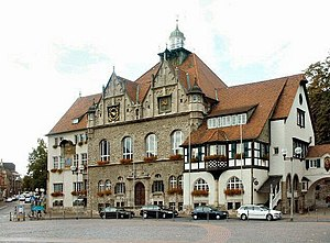 Old town hall in Bergisch Gladbach