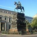 Berlin, Mitte, Unter den Linden, Reiterstandbild Friedrich II.jpg