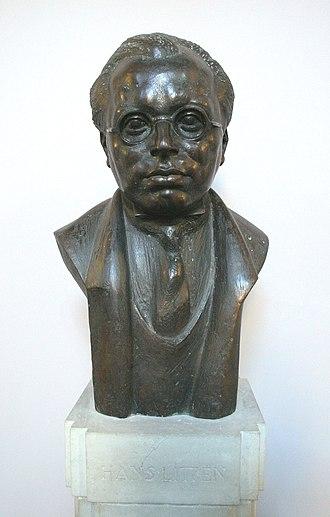 Hans Litten - Bust of Hans Litten at the Berlin District Court