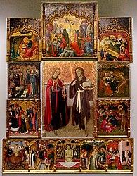 Bernat Martorell: Altarpiece of the Saints John
