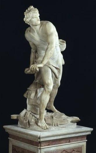 David (Bernini) - Image: Bernini's David