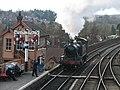 Bewdley Station Signal Box - geograph.org.uk - 1492130.jpg