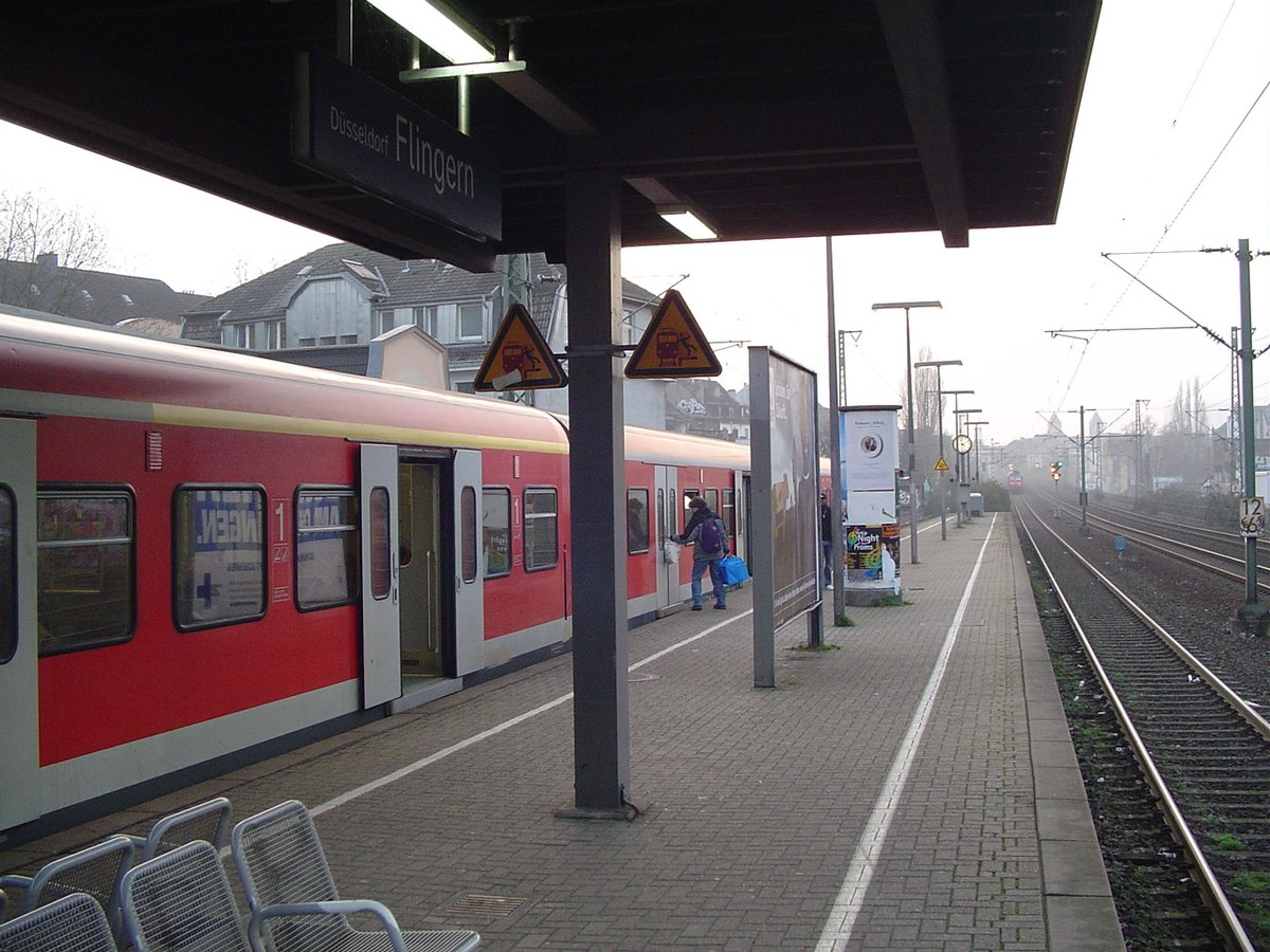 station d sseldorf flingern wikipedia. Black Bedroom Furniture Sets. Home Design Ideas