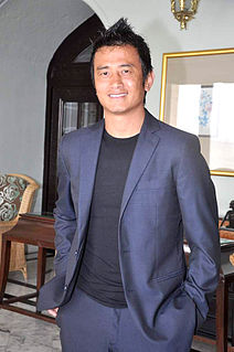 Bhaichung Bhutia Indian association of Sam football player