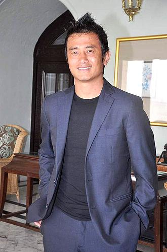 Bhaichung Bhutia - Image: Bhaichung Bhutia at the NDTV Marks for Sports event 21