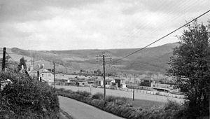 South Devon and Tavistock Railway - Remains in 1964 of Bickleigh Station