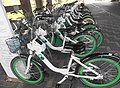 Bicycle-sharing station at Hangang bikeway 2.jpg