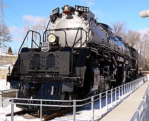 4-8-8-4 - A Big Boy locomotive. This example is Union Pacific 4023.