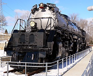Union Pacific 4023 Preserved American 4-8-8-4 locomotive (UP class 4884-2)