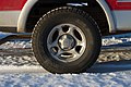 Big Foot tire with alloy wheel on a Ford F-150 (15291518063).jpg