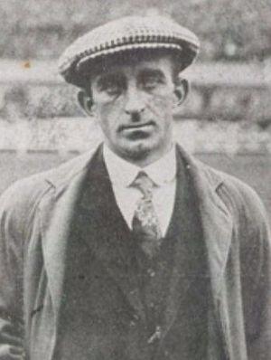 Billy Hunter (footballer) - Hunter in 1914
