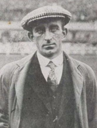 Billy Hunter (footballer) - Hunter in 1914