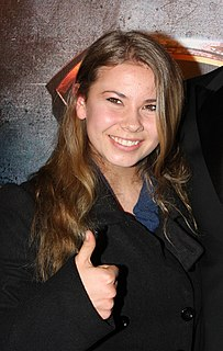 Bindi Irwin Australian television personality and conservationist