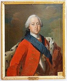 Friedrich August als junger Mann, zeitgenössisches Gemälde, Schloss Eutin (Quelle: Wikimedia)