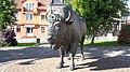 Bison monument in Zambrów.jpg