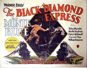The Black Diamond Express - theatrical release poster