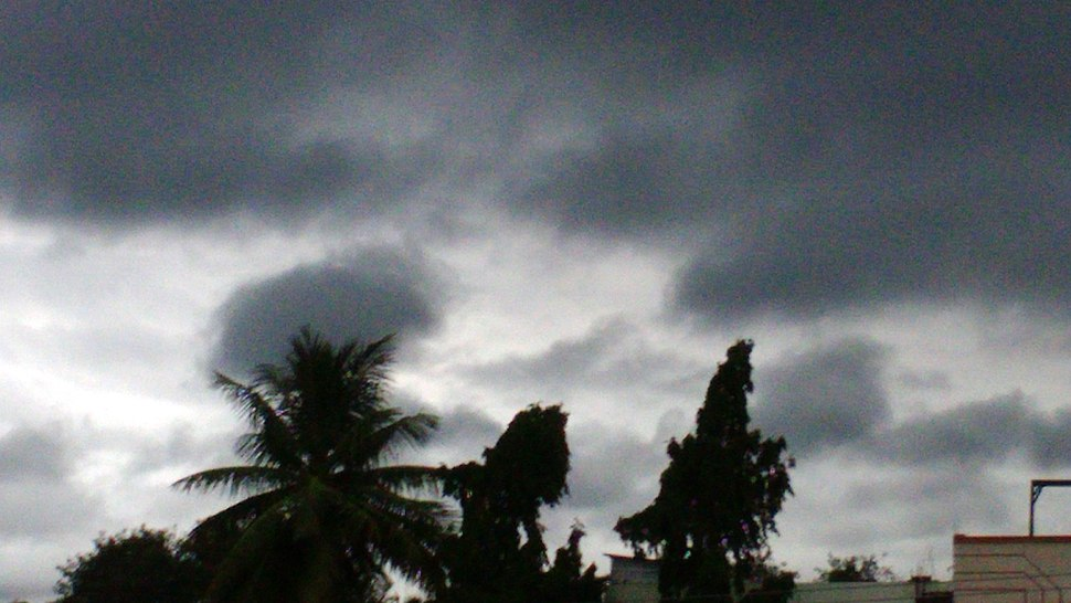 Black Rain Clouds